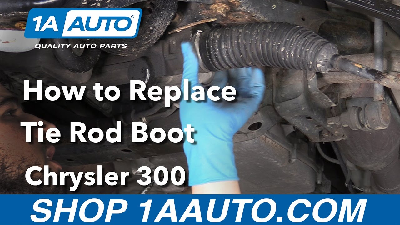 How To Replace Inner Tie Rod Boots 05 10 Chrysler 300