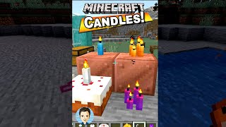 How to Craft Candles in Minecraft! - YouTube #shorts