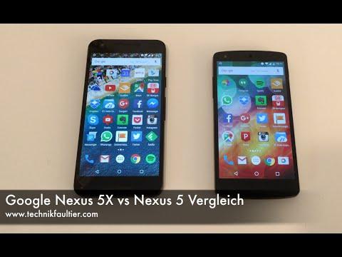 Google Nexus 5X vs Nexus 5 Vergleich