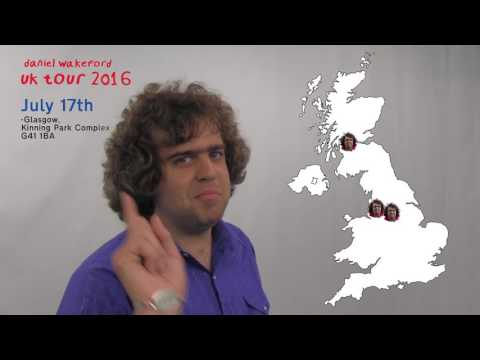 Daniel Wakeford is going on tour!