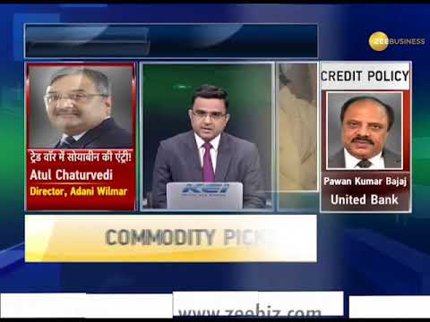 Commodities Live: China to impose 25% import duty on Soybean import from America