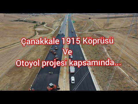 Çanakkale 1915 Köprüsü Ve Otoyol Projesi Çalışmaları Hakkında..