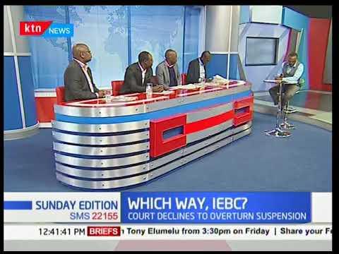 Political Pages: IEBC CEO Ezra Chiloba suspended