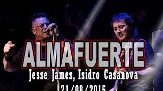 Almafuerte - Jesse James, Isidro Casanova - 21/08/15 - Cobertura