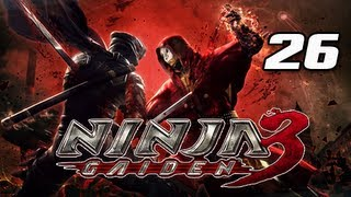 Ninja Gaiden 3 Walkthrough - Part 26 [Day 8 Tokyo] Car Chase PS3 XBOX Let's Play
