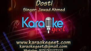Dosti Jawad Ahmed (Karaoke)