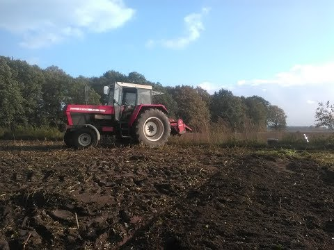 Rotovating with Zetor 11211 (first person)