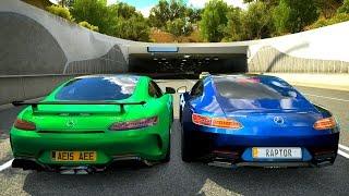 Mercedes AMG GTR vs AMG GTS - Forza Horizon 3 HD 1080p 60fps