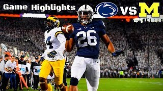 Penn State vs Michigan - Game Highlights (BLOW OUT)
