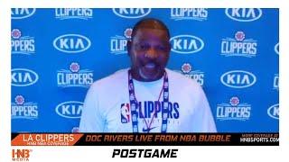 Doc Rivers Media Availability 7-11-2020   LA Clippers