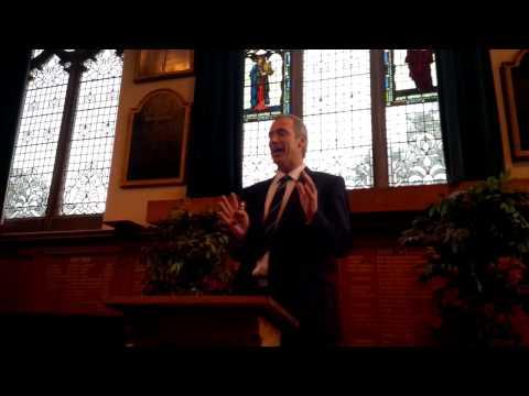 Memorial service speech