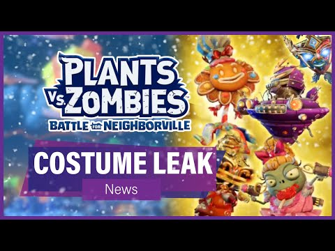 ALL RUX COSTUMES LEAKED (News - Datamining) - Plants vs Zombies: Battle For Neighborville
