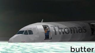 Thomas Cook Water Landing! (Roblox)