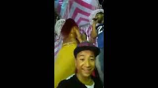 احمد اكس مولع الدنيا مع الرقاصات علي مهرجان ازوقو زقة 2017