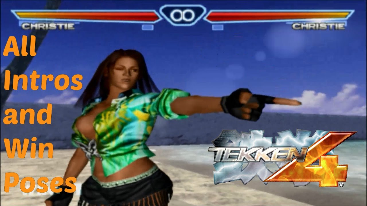 Tekken 4 All Intros Win Poses All Characters Youtube