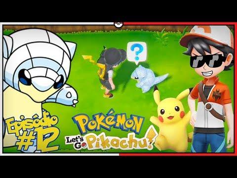 Pokémon Let's GO Pikachu #12 - Sandshrew de Alola em Celadon!