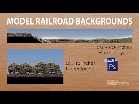 Etobicoke Central Railways – Model Railroad Backgrounds