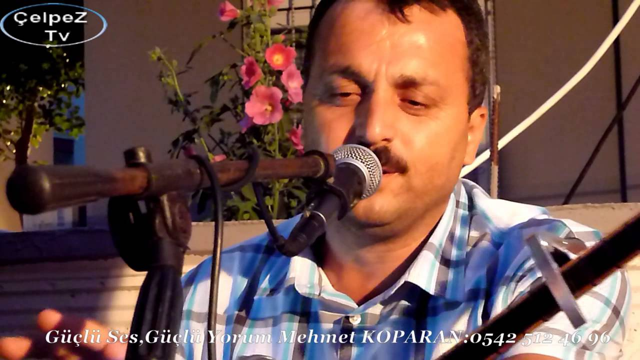 Güçlü Ses,Güçlü Yorumcu Mehmet Koparan'dan Anonim Halk Türküleri:(Çoban Yıldızı,Bodrum Hakimi)