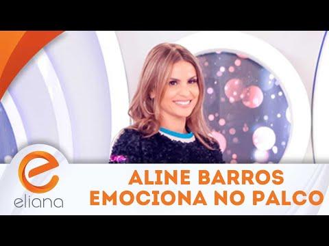 Aline Barros emociona Anninha no palco | Programa Eliana (09/09/18)