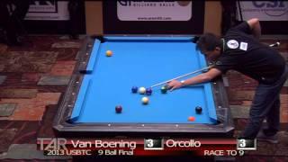 2013 Us Bar Table Championships 9 Ball Final: Dennis Orcollo Vs Shane Van Boening