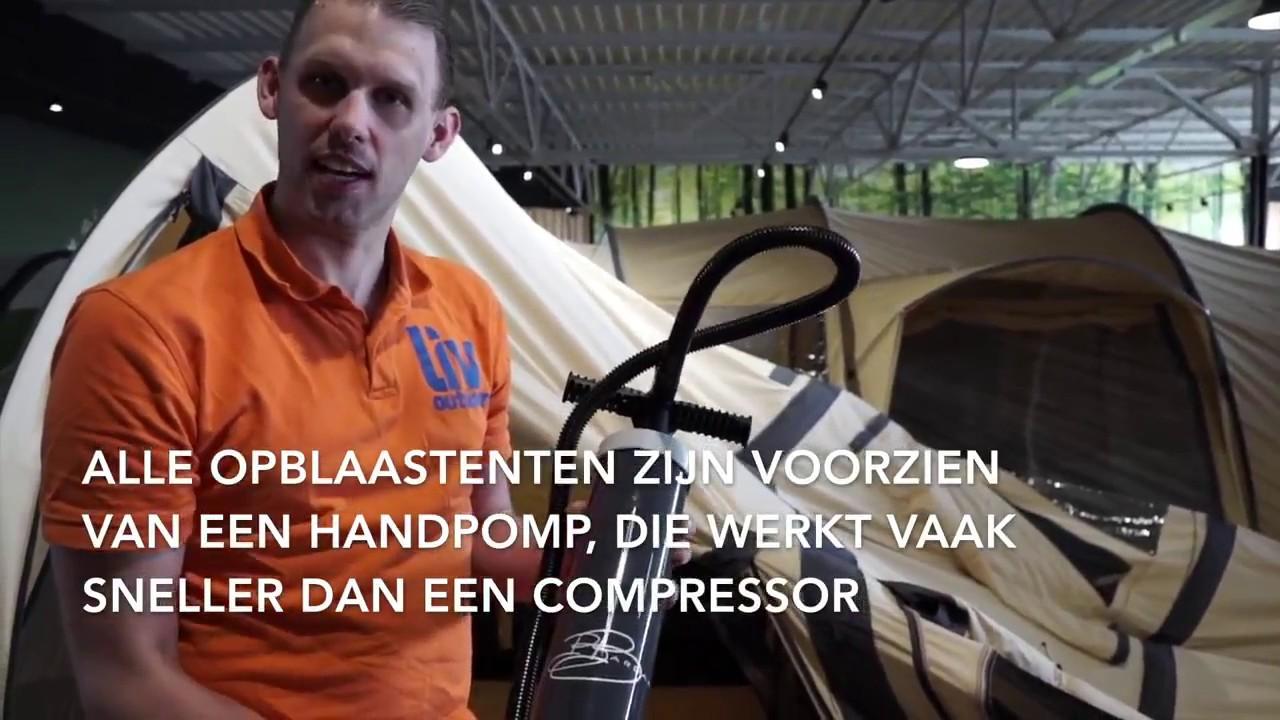 Nieuw Opblaastent opzetten bij Liv outdoor Zaandam - YouTube LI-56