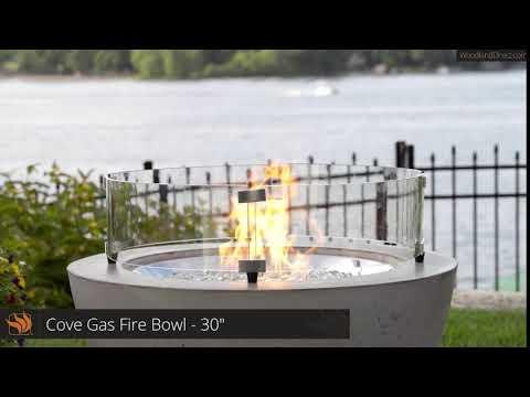 "Cove Gas Fire Bowl - 30"""