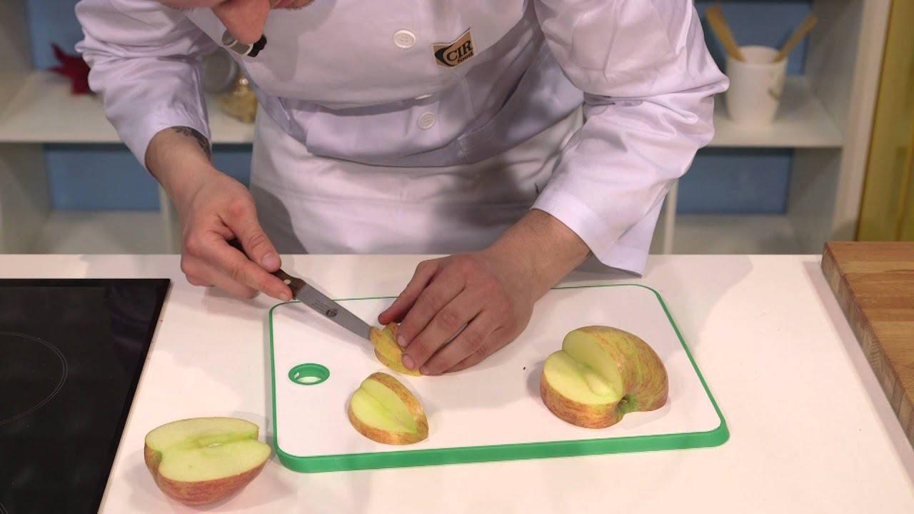 Intaglio di frutta e Decorazioni dei piatti - YouTube