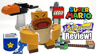 LEGO Super Mario Boss Sumo Bro Topple Tower REVIEW! 2021 set 71388!