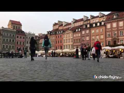 Time-lapse Warsaw Old Town