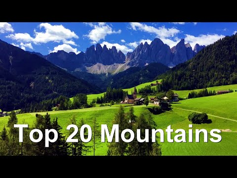 Top 20 Highest Mountain Ranges In The World