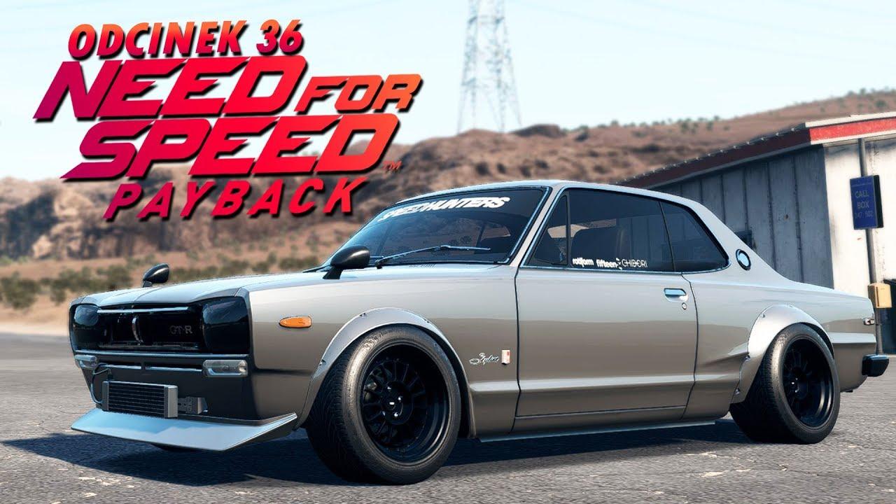 Need for Speed Payback UPDATE PL (DUBBING) #36 – NISSAN GTR 2000 + LOKALIZACJA!