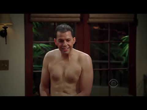 Download Two and a Half Men Season 7, Episode 1, Charlie Makes Fun of Alan's Cold and Shriveled Penis wme