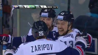 Mozyakin scores backhander, beating Arzamastsev twice a moment!