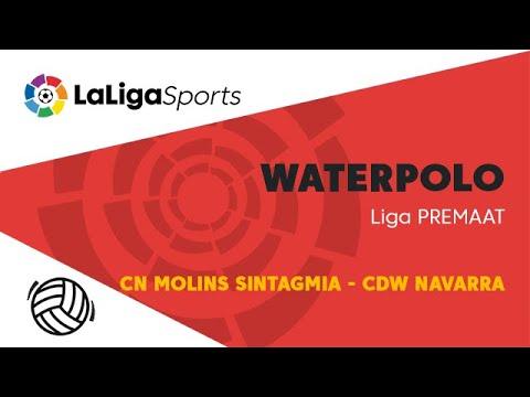 📺 Liga PREMAAT de Waterpolo: CN Molins Sintagmia - CDW Navarra