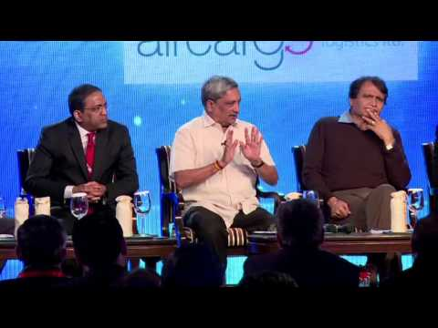 Suresh Prabhu at Panel discussion on Make In India unleashing India's potential organised by ET