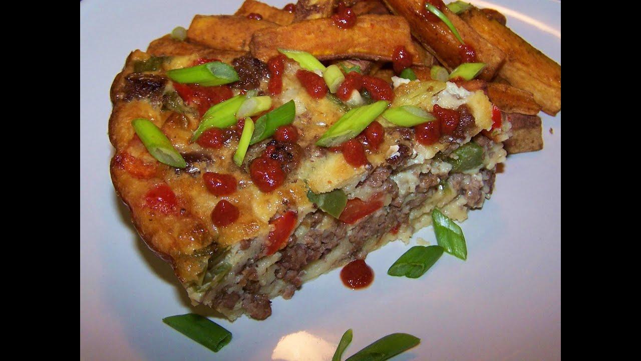 Impossible Pepper Steak Pie Recipe - Gluten Free - YouTube