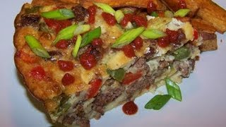 Impossible Pepper Steak Pie Recipe - Gluten Free