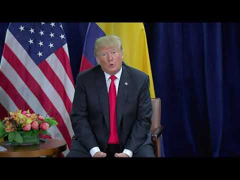 Trump says chaos in Venezuela is unacceptable...