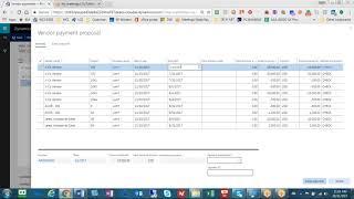 Wie man ein AP Check Laufen in D365 für Finanzen und Operations