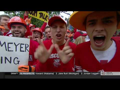ESPN College GameDay ''From Madison, Wis'' Oct 15, 2016