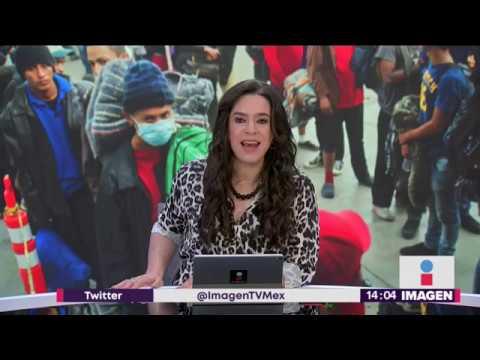 Ya son 9 mil migrantes en Tijuana; así se ve la ciudad | Noticias con Yuriria