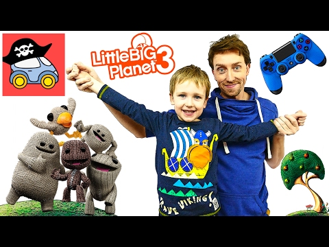 LittleBigPlanet - Прохождение игры на русском - Кооператив