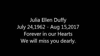 Tribute to Julia Duffy
