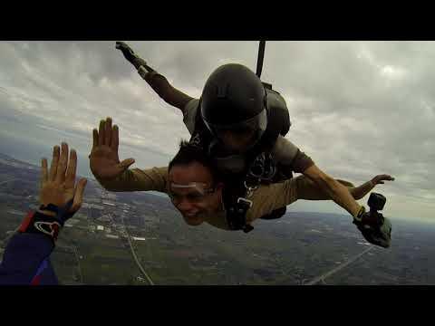 Tandem Skydiving Sturtevant Wisconsin 2017