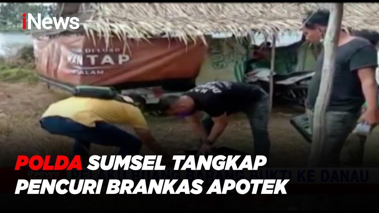Download Polda Sumsel Tangkap Pencuri Brankas Apotek, Pelaku Buang Barang Bukti ke Danau #iNewsPagi 28/07