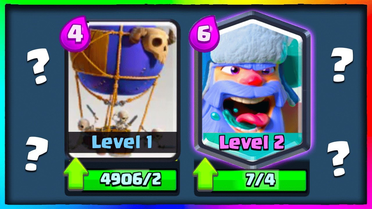 Neue Clash Royale Karten