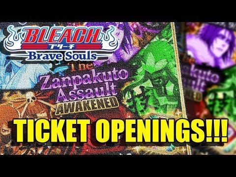 Bleach Brave Souls (Tickets): Zanpakuto Awakened Ticket Rewards!