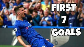 Mason Mount First 7 Goals For Chelsea 2019