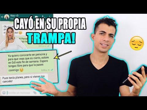 PUSE A PRUEBA A MI NOVIA Y DESCUBRÍ ESTO | Marvin Garcez