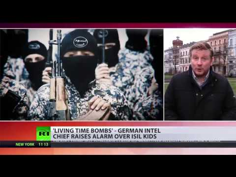 Living time bombs: German intel chief raises alarm over ISIS children
